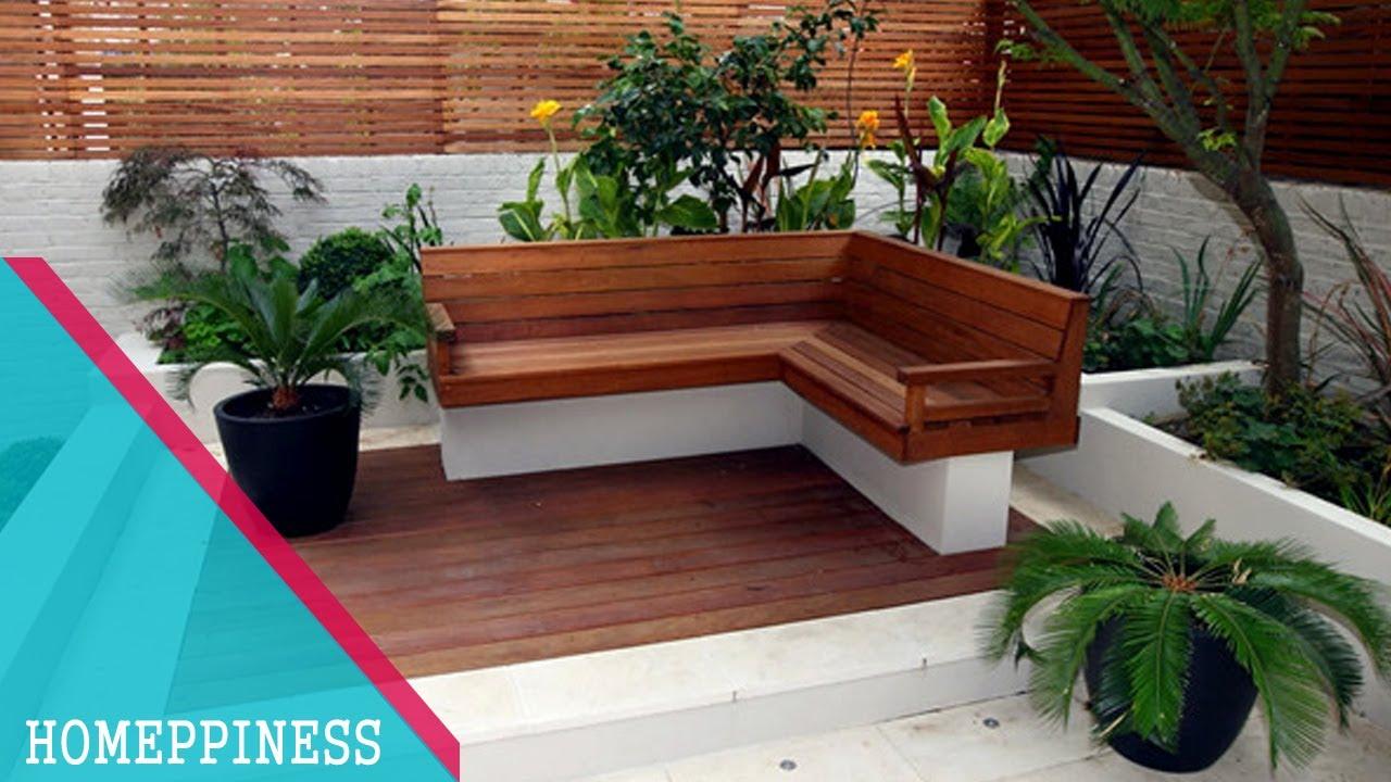 Merveilleux FRESH U0026 GREEN | 25+ Modern Garden Ideas With Nice Garden Benches    HOMEPPINESS