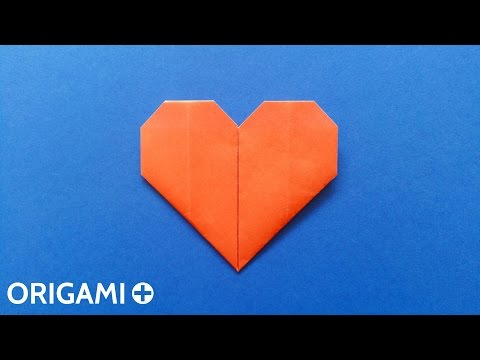 Origami Heart (Traditional Model) - Coeur, Corazón, Coração, Cuore, Herz