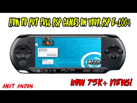 HOW TO INSTALL GAMES ON PSP 🎮 ( TUTORIAL ) || PSP E-1004 || Amit Angon