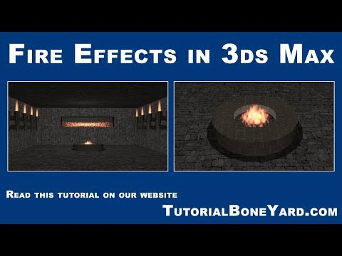 3ds Max Fire Animation