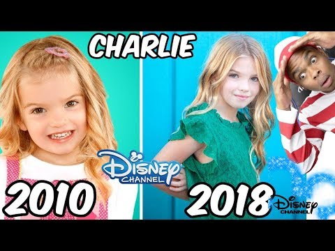 Disney Channel Famous Girls Stars Before and After 2018