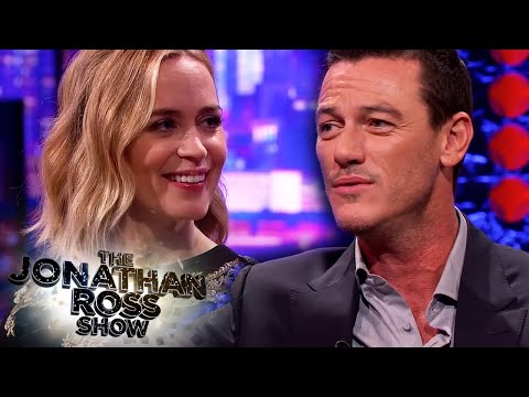 Luke Evans Sings Adele 'When We Were Young' To Emily Blunt - The Jonathan Ross Show