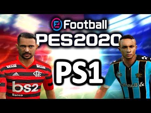 SAIU O PES 2020 DE PS1 COM BRASILEIRÃO A, B E C! ESTÁDIOS,UNIFORMES, CHUTEIRAS... (Download Grátis)