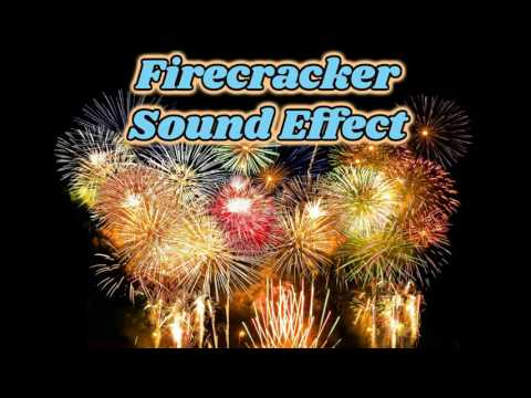 firecracker sound effect, fireworks white noise