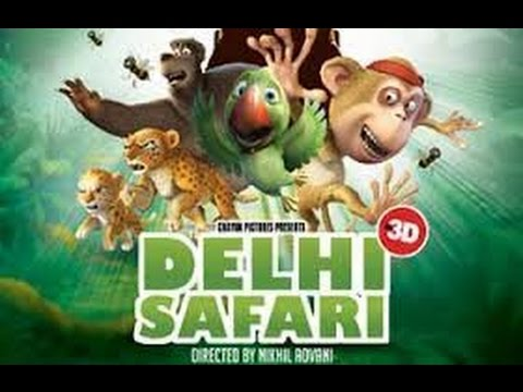 Animation Movies  Delhi Safari movie english  Cartoons movie  Disney movies Comedy movies