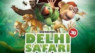 Animation Movies | Delhi Safari movie english | Cartoons movie | Disney movies| Comedy movies