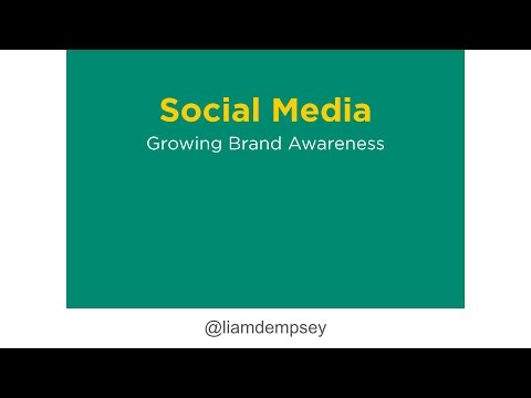 Social Media Strategy: Growing Brand Awareness