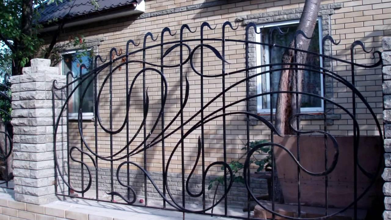 Забор решеткой своими руками фото 156
