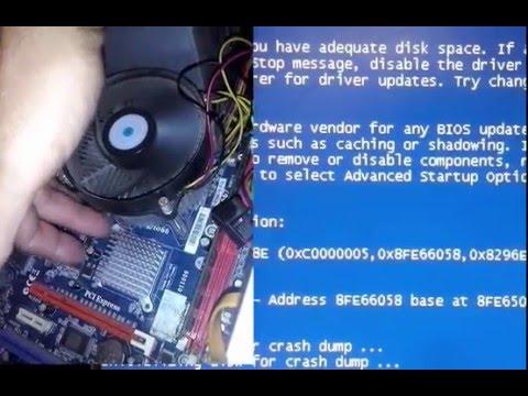 A problem has been detected. intelppm.sys - Tela Azul da Morte erro: 0x0000008E