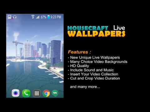 Modern House Minecraft Live Wallpapers Apps On Google Play