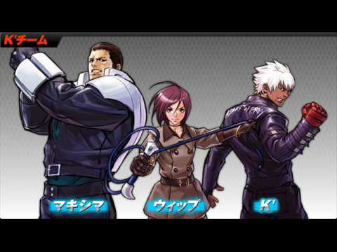 King Of Fighters 2002 Unlimited Match - KOF 02 UM - K' Team KD 0079+