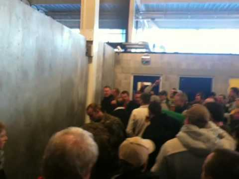 Cardiff vs Swansea city, Swansea fans before the match, south wales derby 09/10
