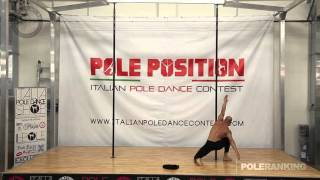 Diego Novello - Italian Pole Dance Contest 2016