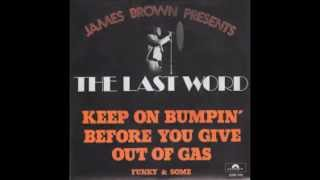 the last word keep on bumpin