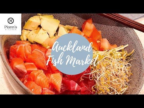 Auckland Fish Market + Poke Bowl At Home