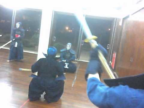 Kendo training at Singapore Kendo Club @Clementi Rd part2 (October 2012)