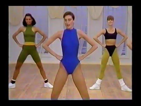 Carol Alt Optibody (1989) beautiful model workout video from 80s