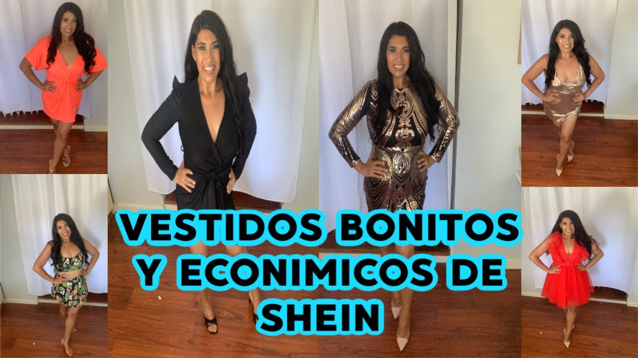 VESTIDOS PARA FIESTAS BONITOS Y ECONOMICOS DE SHEIN | TRY ON HAUL SHEID PARTY DRESSES