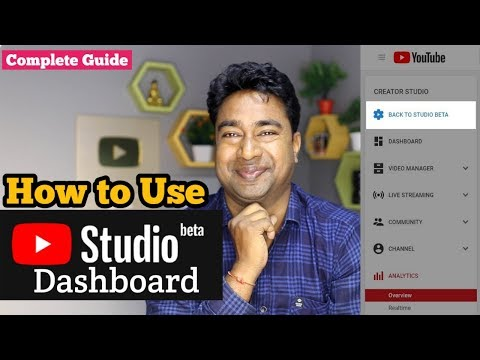 How to use New Youtube Creator Studio dashboard on Desktop | Complete Guide