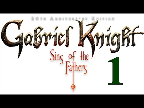 Gabriel Knight Remake #1 Fiddling hat the Bookstore - Let's Play Gabriel Knight Remake | HD Gameplay