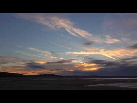 Morning Time-Lapse in Swansea Bay, Wales