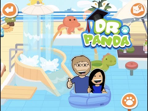Dr. Panda Town: Vacation with Lily & Dad - fun travel video for kids