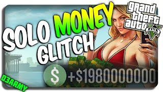 Gta Online New Solo Money Glitch Gta Glitches After Patch