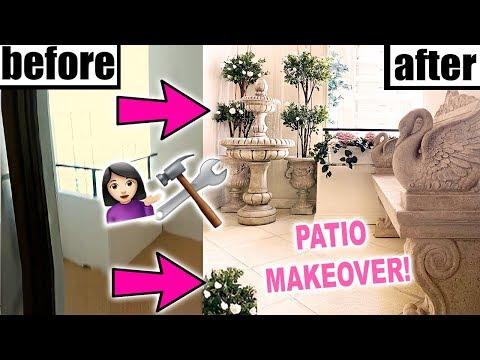 DIY PATIO MAKEOVER!