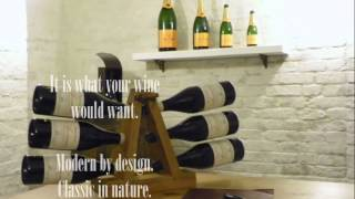 Product Design Advert - 'the Wine Rack'