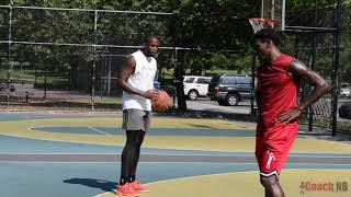 Coach-NB Training Session with Professional Basketball player Kevin Cox