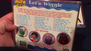 Comparison Video: The Wiggles - Let's Wiggle (1999/2003) CD