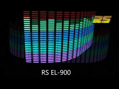 Графический эквалайзер-подсветка  на стекло RS EL-900