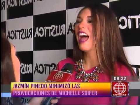 Jazmín Pinedo arremetió contra Michelle Soifer