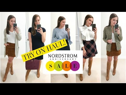 HUGE NORDSTROM ANNIVERSARY SALE 2017 TRY ON HAUL / Covering the Bases
