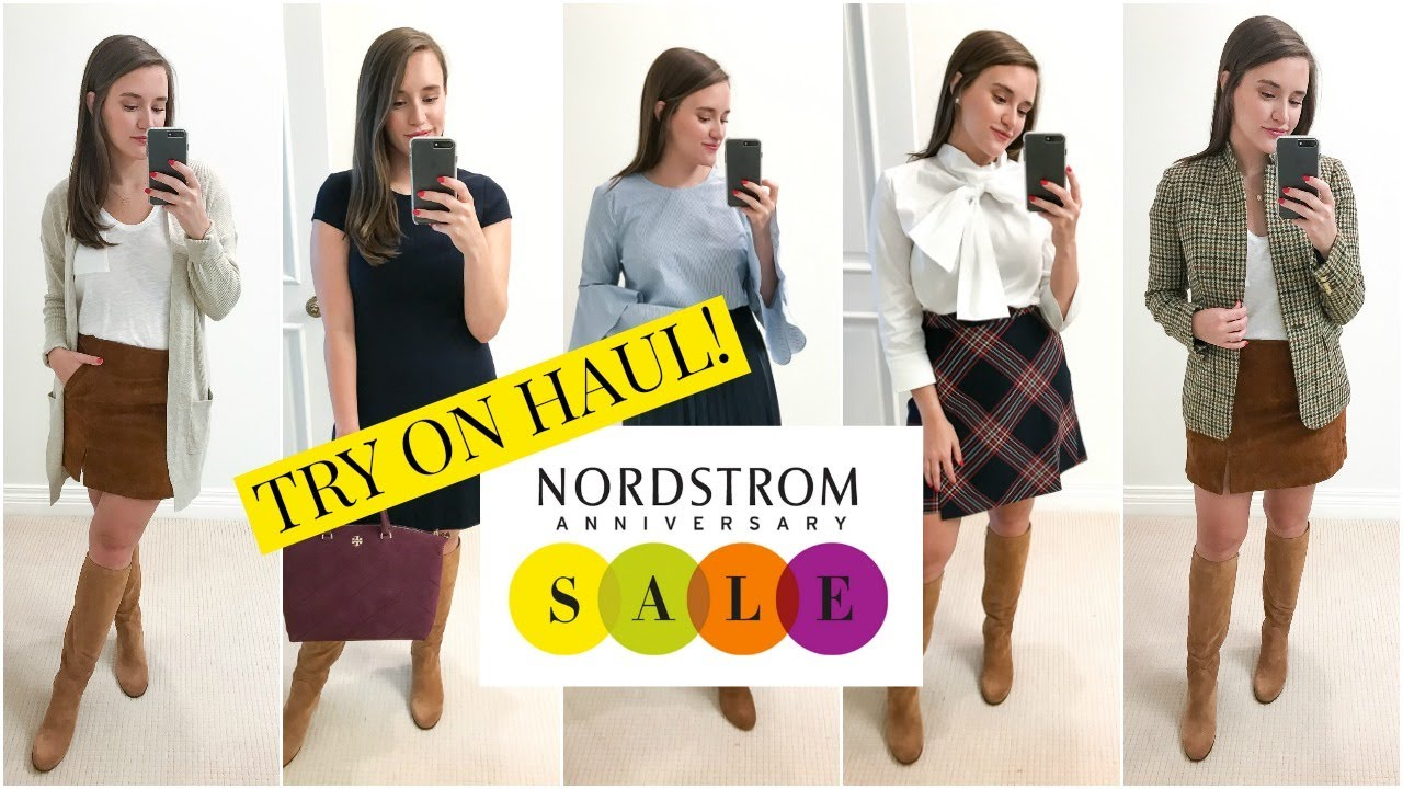 Huge nordstrom anniversary sale try on haul covering the