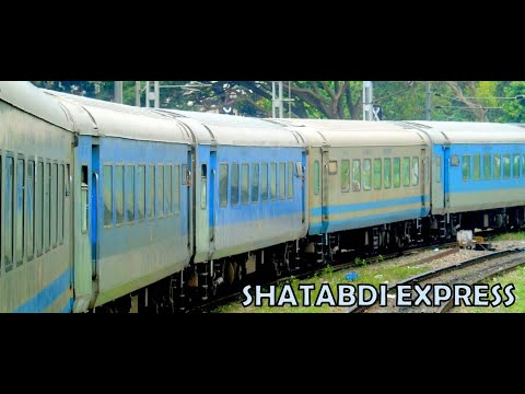 CHENNAI to BANGALORE : Non Stop Shatabdi Express : Circular Trip Part 1 [Full HD]