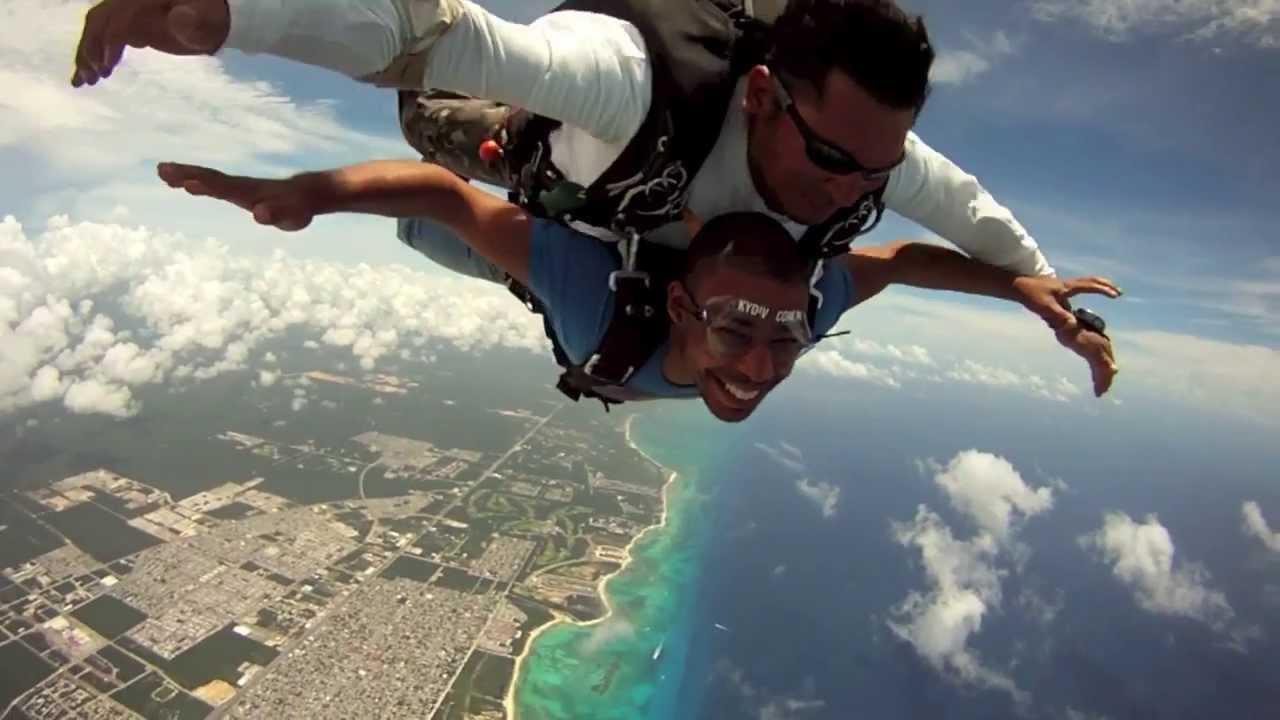 Skydiving In Playa Del Carmen, Mexico