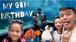 MY 9th BIRTHDAY + MANILA OCEAN PARK ADVENTURE | YESHA C. 🦄