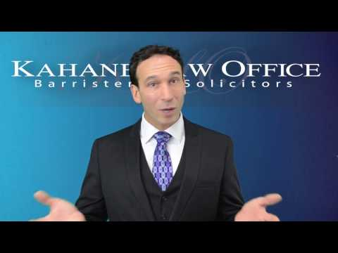 Constructive Dismissal by Kahane Law Office