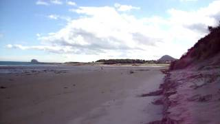 Yellowcraig beach Dirleton North Berwick