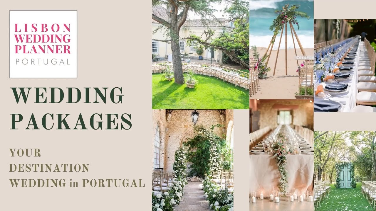 Wedding Packages in Portugal ~ by Lisbon  wedding Planner