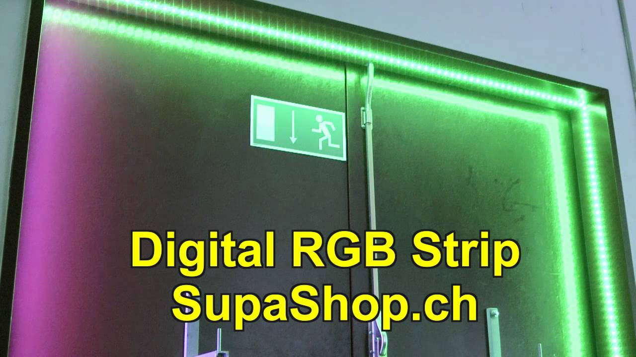 Led Leuchtbänder Digitaler Rgb Led Strip Leuchtstreifen