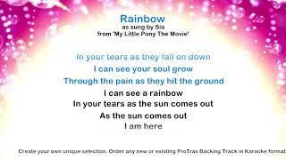 Rainbow - ProTrax Karaoke Demo
