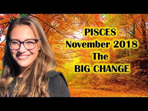 PISCES November 2018. A HUGE Shift Begins! BIG RISE in Your STATUS within a YEAR!