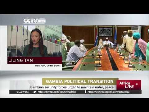 AU urges Gambia