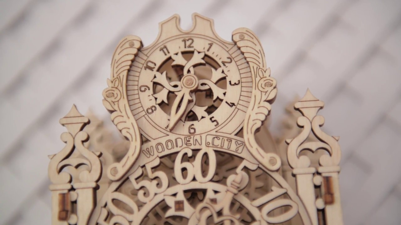 ROYAL CLOCK by WOODEN CITY