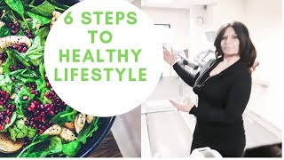 6 simple steps to healthy lifestyle by ...