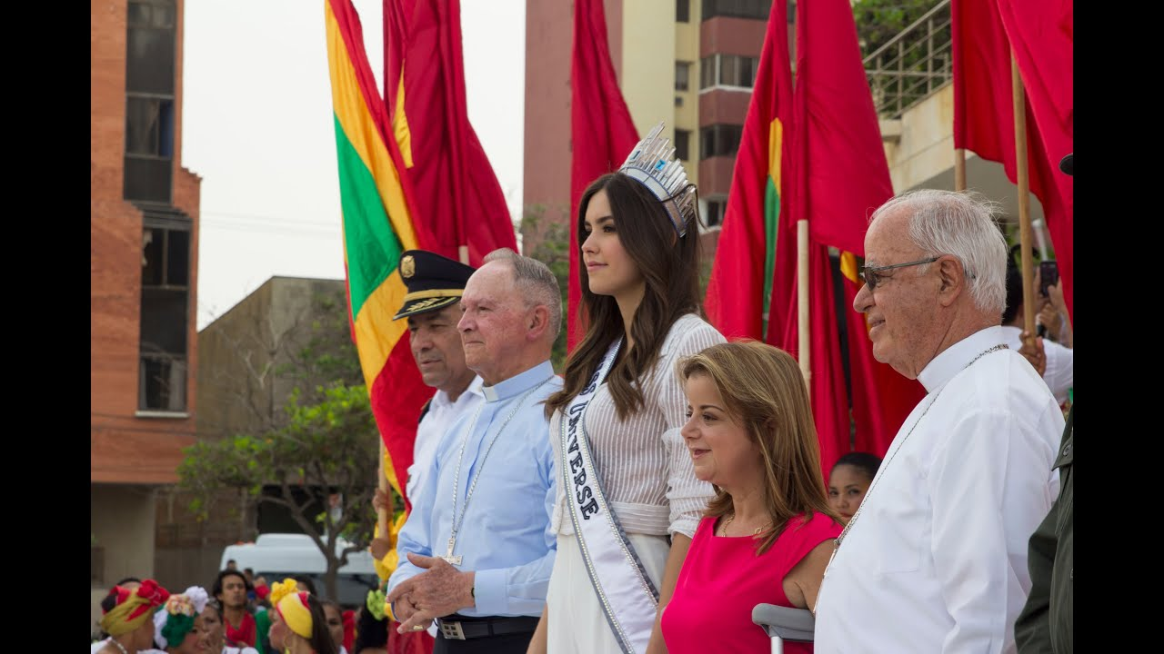 Miss Universe, Paulina Vega Returns To Colombia