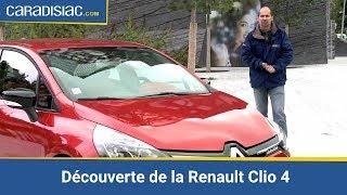 Découverte de la Renault Clio 4