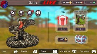 🔴LIVE - WildCraft: Animal Sim Online 3D 🐾 Quest 🐷🦝🐊 screenshot 2